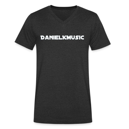 Inscription DanielKMusic - Men's Organic V-Neck T-Shirt by Stanley & Stella