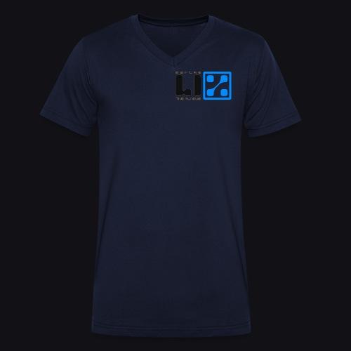 LIZ Before the Plague (Logo) - T-shirt ecologica da uomo con scollo a V di Stanley & Stella