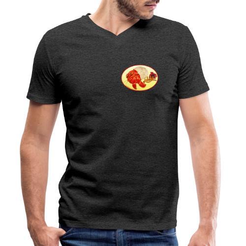 hermid - Männer Bio-T-Shirt mit V-Ausschnitt von Stanley & Stella