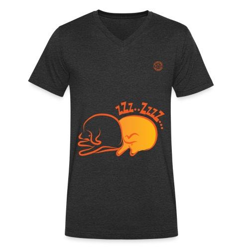 zzz 2 02 - T-shirt ecologica da uomo con scollo a V di Stanley & Stella