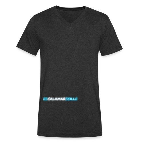 EscalaMarseille - T-shirt bio col V Stanley & Stella Homme
