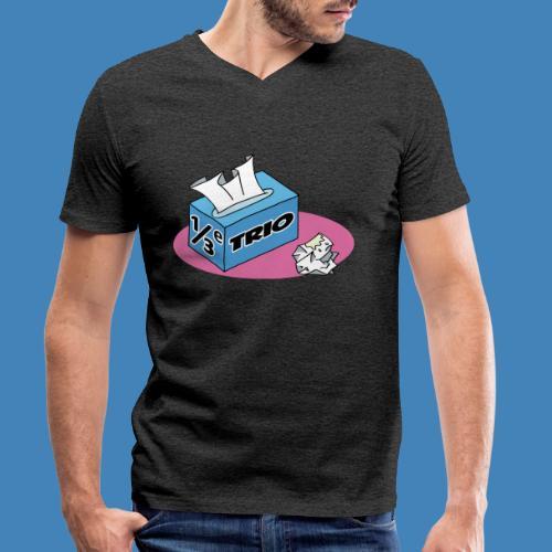 1/3e Trio - Mannen bio T-shirt met V-hals van Stanley & Stella