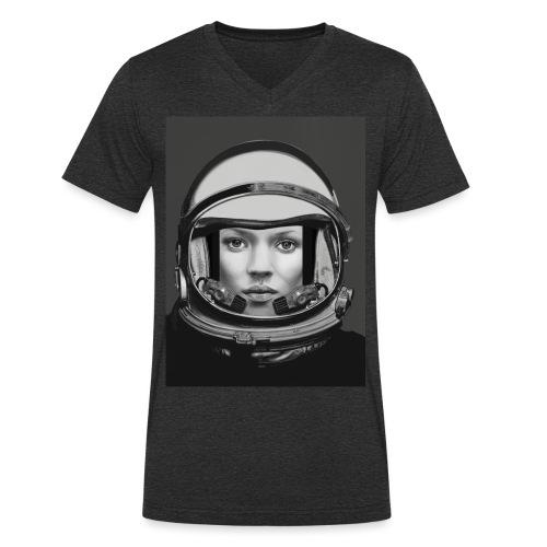 SPACE KATE - T-shirt bio col V Stanley & Stella Homme