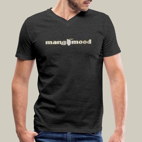 Mangomood Logo - Männer Bio-T-Shirt mit V-Ausschnitt von Stanley & Stella