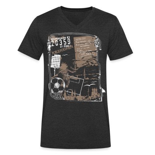 Spieltag - Männer Bio-T-Shirt mit V-Ausschnitt von Stanley & Stella