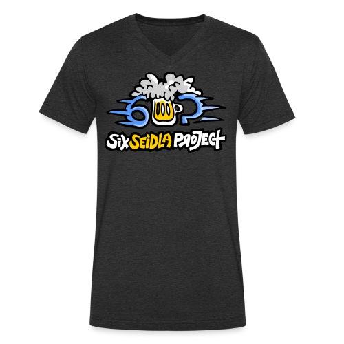 SixSeidlaProject Normal - Männer Bio-T-Shirt mit V-Ausschnitt von Stanley & Stella