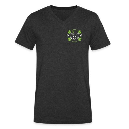 Built By Plants - Männer Bio-T-Shirt mit V-Ausschnitt von Stanley & Stella