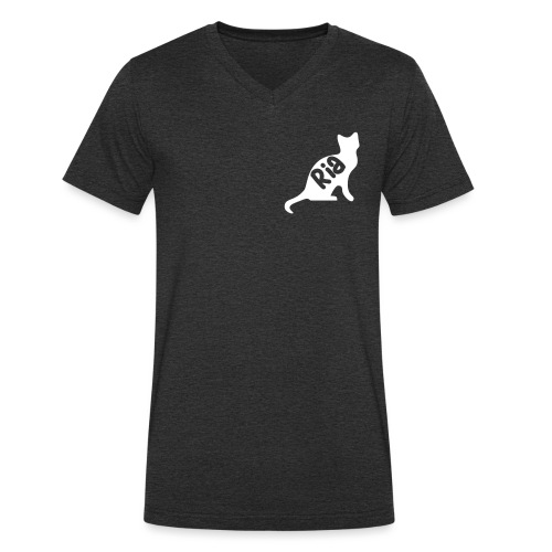 Team Ria Cat - Men's Organic V-Neck T-Shirt by Stanley & Stella