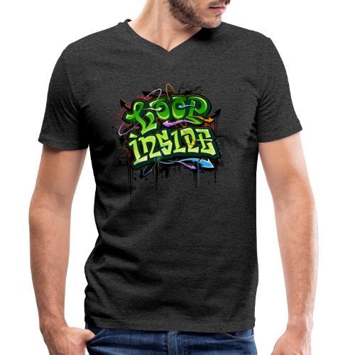Loop INSIDE 😎 - Männer Bio-T-Shirt mit V-Ausschnitt von Stanley & Stella