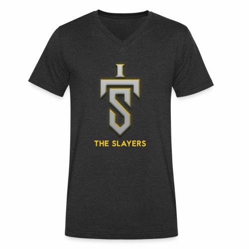 Slayers emblem - Men's Organic V-Neck T-Shirt by Stanley & Stella