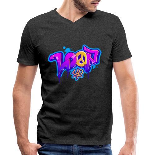 Look for Loop UP - Männer Bio-T-Shirt mit V-Ausschnitt von Stanley & Stella
