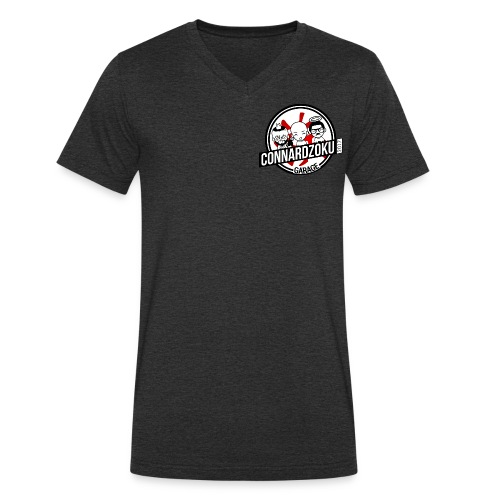 Connardzoku Garage - T-shirt bio col V Stanley & Stella Homme