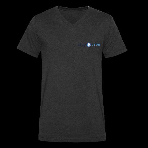 AFUP Lyon - T-shirt bio col V Stanley & Stella Homme