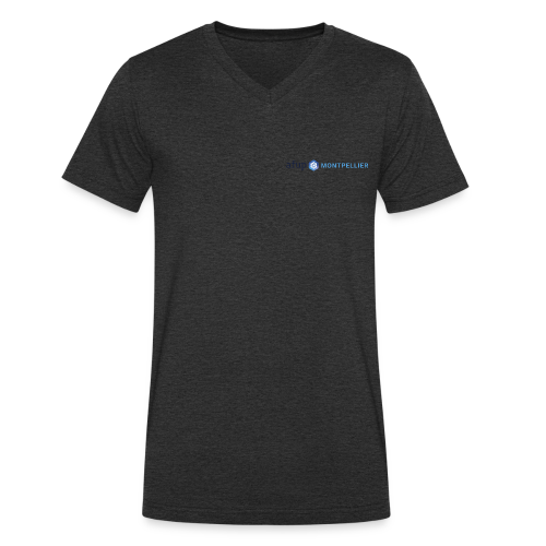 AFUP Montpellier - T-shirt bio col V Stanley & Stella Homme