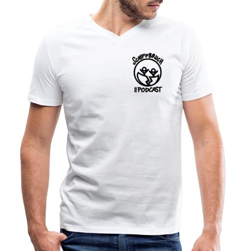 Schiffbruch - Der Podcast - Männer Bio-T-Shirt mit V-Ausschnitt von Stanley & Stella