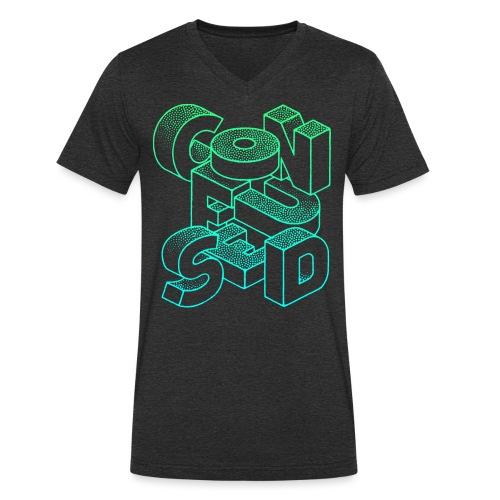 Confused - Ekologisk T-shirt med V-ringning herr från Stanley & Stella