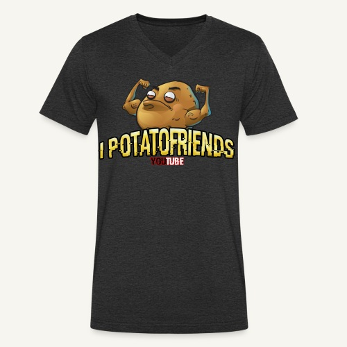 I-POTATOFRIENDS - T-shirt ecologica da uomo con scollo a V di Stanley & Stella