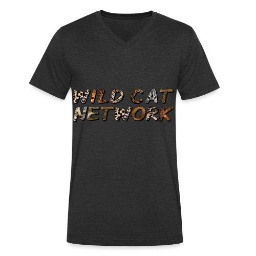 WildCatNetwork 1 - Männer Bio-T-Shirt mit V-Ausschnitt von Stanley & Stella