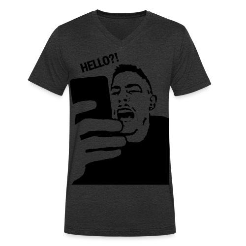 transparent png - Männer Bio-T-Shirt mit V-Ausschnitt von Stanley & Stella