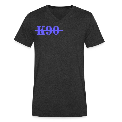 K90 Art Clothing - Men's Organic V-Neck T-Shirt by Stanley & Stella