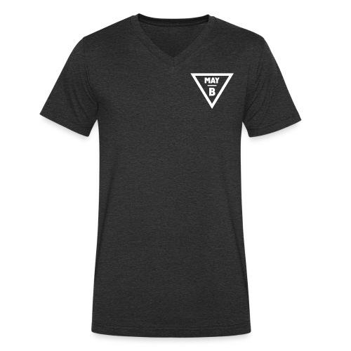 May-B Hipster Traingle - Men's Organic V-Neck T-Shirt by Stanley & Stella