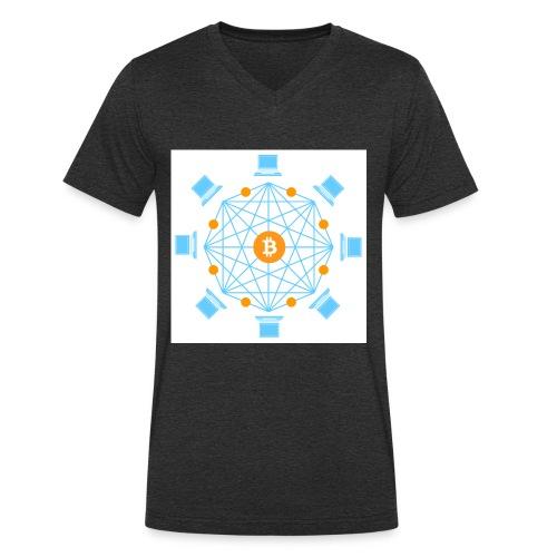 Blockchain - Stanley & Stellan miesten luomupikeepaita