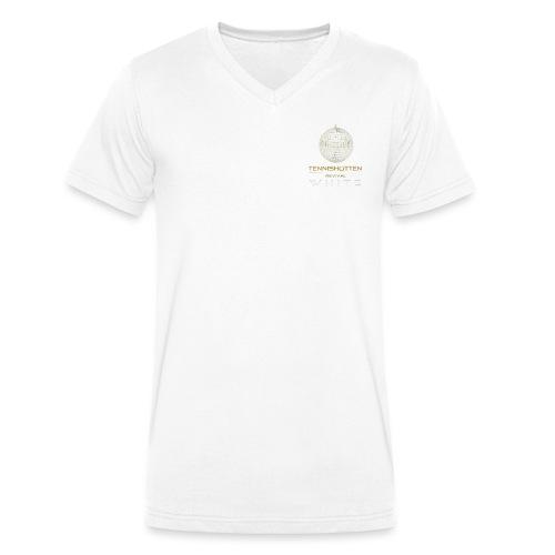 WHITE PARTY - Männer Bio-T-Shirt mit V-Ausschnitt von Stanley & Stella