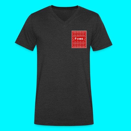 FIVES patch - T-shirt bio col V Stanley & Stella Homme