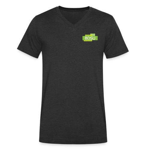 BDSU X TrainerAkademie - Männer Bio-T-Shirt mit V-Ausschnitt von Stanley & Stella
