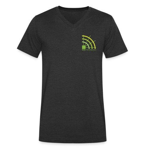 BDSU TrainerAkademie Logo - Männer Bio-T-Shirt mit V-Ausschnitt von Stanley & Stella