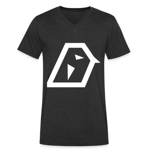 twite_namen v3 - Männer Bio-T-Shirt mit V-Ausschnitt von Stanley & Stella