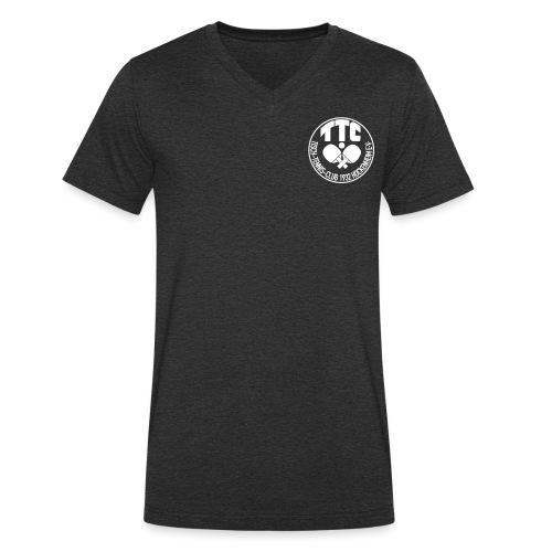 TTC Hockenheim Wappen - Männer Bio-T-Shirt mit V-Ausschnitt von Stanley & Stella