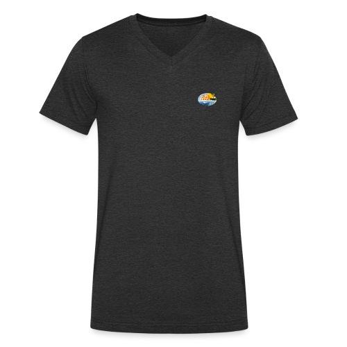 logo Sunreef - Mannen bio T-shirt met V-hals van Stanley & Stella
