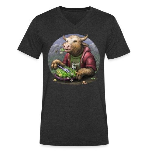 yumm - Männer Bio-T-Shirt mit V-Ausschnitt von Stanley & Stella