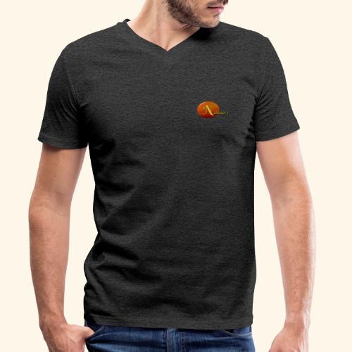 NathanielsLogo - Männer Bio-T-Shirt mit V-Ausschnitt von Stanley & Stella