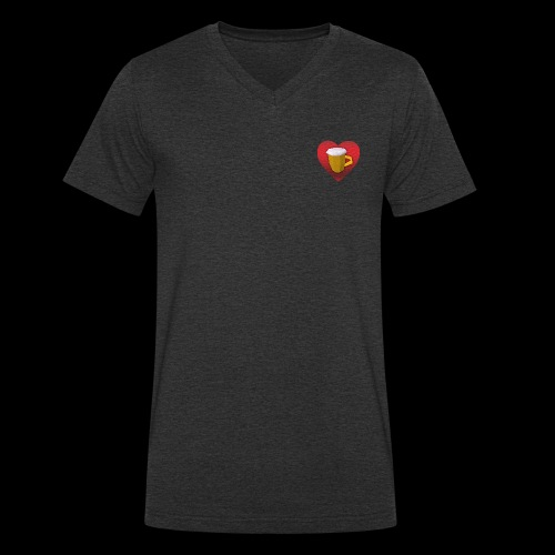 kidfutBeer! - Mannen bio T-shirt met V-hals van Stanley & Stella