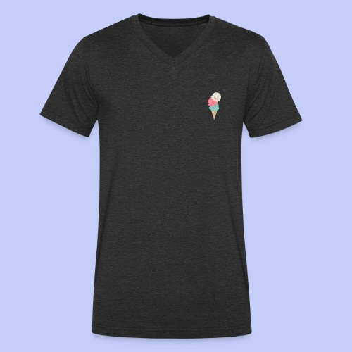 Cute Icecreams - Men's Organic V-Neck T-Shirt by Stanley & Stella