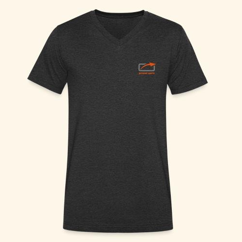 PS Logo Standard - Männer Bio-T-Shirt mit V-Ausschnitt von Stanley & Stella