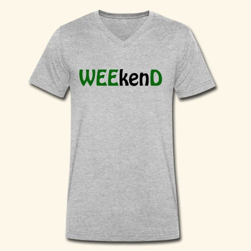 weed - Männer Bio-T-Shirt mit V-Ausschnitt von Stanley & Stella
