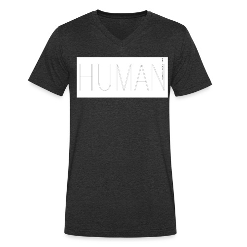 Human Collection 1.0 - Ekologisk T-shirt med V-ringning herr från Stanley & Stella