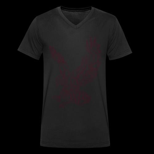 Eagle circuit - Økologisk Stanley & Stella T-shirt med V-udskæring til herrer