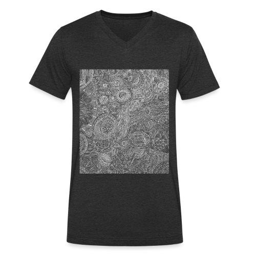 freier Geist - Männer Bio-T-Shirt mit V-Ausschnitt von Stanley & Stella