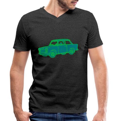 Trabant 2 - Männer Bio-T-Shirt mit V-Ausschnitt von Stanley & Stella
