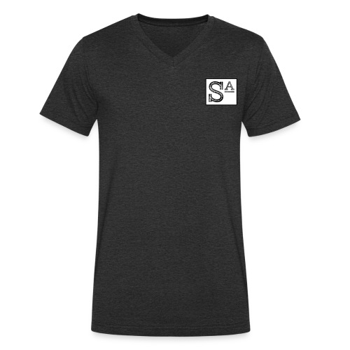 S a squaree apparel - Men's Organic V-Neck T-Shirt by Stanley & Stella
