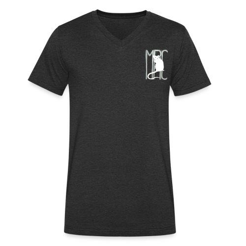 MRC-White - Men's Organic V-Neck T-Shirt by Stanley & Stella