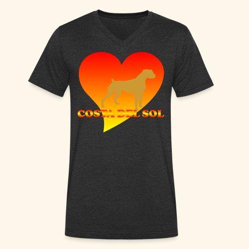 cdsDog1 - Männer Bio-T-Shirt mit V-Ausschnitt von Stanley & Stella