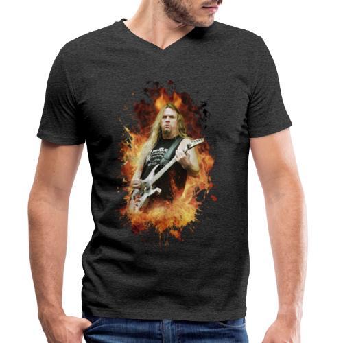 Angel of death - Camiseta ecológica hombre con cuello de pico de Stanley & Stella