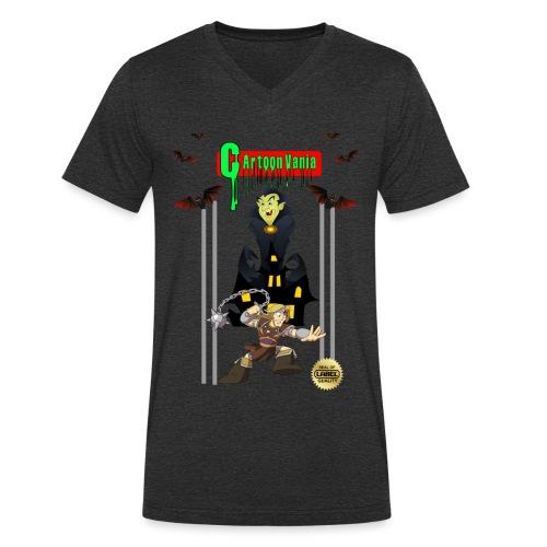 CartoonVania - Men's Organic V-Neck T-Shirt by Stanley & Stella