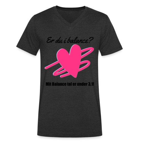 I Balance Design - Økologisk Stanley & Stella T-shirt med V-udskæring til herrer