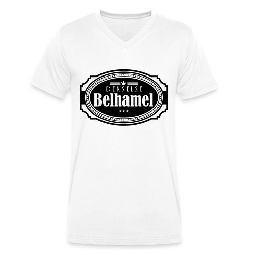 Dekselse belhamel - Mannen bio T-shirt met V-hals van Stanley & Stella